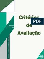 Critérios de Avaliação Do Agrupamento 2020 2021
