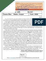 examen blanc et corrige 3ASL francais 1er sujet (1).pdf