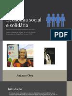 Economia Social e Solidária