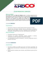 TIPOS DE CLIENTE I
