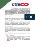 TIPOS DE MERCADEO II