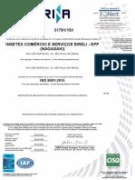 Certificado ISO 9001_2015