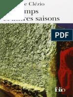 Printemps et autres saisons  Le Clézio