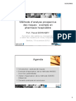Méthode d'analyse prospective des risques  exemple en pharmacie hospitalière