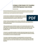 ARTICLE 14-PRINCIPLES OF DALMIA CASE
