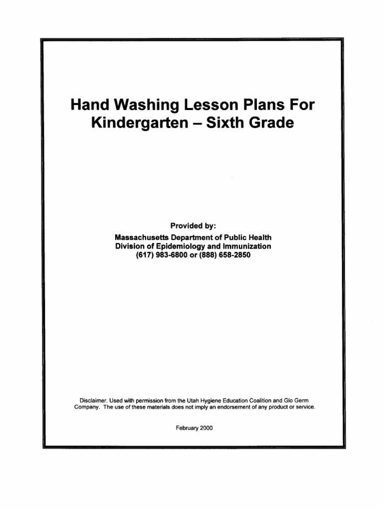 Lesson Plans K6 1
