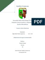 Aspectos fundamentales del comercio exterior dominicano