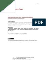 Instituições do poder local no Brasil e em Angola / Local power institutions in Brazil and Angola Janaína Rigo Santin, Carlos Teixeira