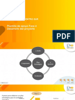 Plantilla de apoyo Fase 4 Desarrollo del proyecto