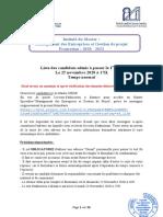 Management des Entreprises et Gestion de projet TN_0