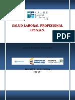POLITICAS - SALUD LABORAL PROFESIONAL II