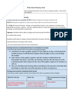 think aloud strategy planning sheet and links to resources
