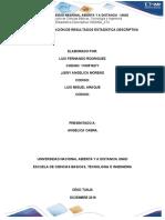 PASO 5 PRESENTACIÓN DE RESULTADOS GRUPO N474