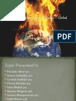 Global warming ppt