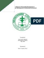 PD 4 Teacher's Module Coverpage