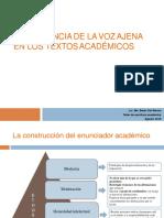 Inclusión de la voz ajena en los textos académicos.pdf