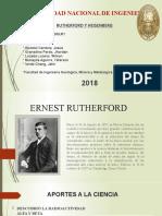 rutherford y heisemberg