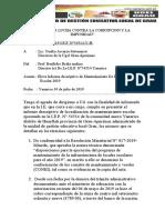 informe descriptivo mantenimiento yanarico 2019