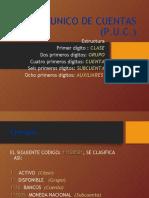 PLAN UNICO DE CUENTAS (PUC) 2