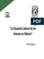 Situación laboral jovenes méxico 2008.pdf