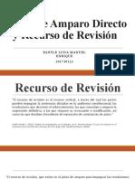 Juicio de Amparo Directo y Recurso de Revisión