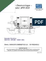Manual de desmontaje del Generador