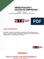 S02.s1 -La Gestión Empresarial - La Empresa y Su Entorno