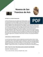 novena a san Francisco De Asis K3