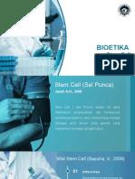 BIOETIKA STEM CELL