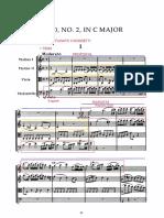 Haydn, quartetto op. 20, n. 2