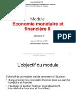 Chapitre 1 Eco Monetaire Faiz 2019 2020 Mod