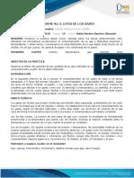 Anexo - Formato Informes 3 y 4