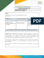 Anexo 1 - Formato de identificación de Creencias