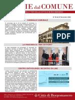 Notizie Dal Comune di Borgomanero del 27-11-2020