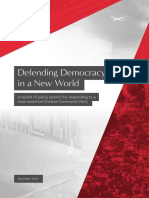 Defending Democracy in a New World