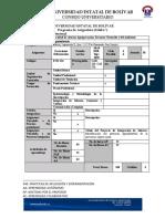 SÍLABO ONLINE  ECUACIONES DIFERENCIALES 2020-2020