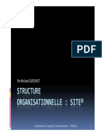 GU SAP Structure Organisationnelle Site