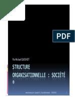 GU SAP Structure Organisationnelle Société