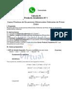 DESARROLLO Cálculo III