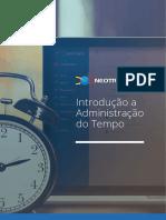 Ebook - Introdução a Administração do Tempo