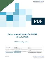 S&A - Govt Portals for MSMEs.pdf