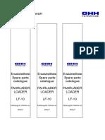 Manual de Partes LF-10