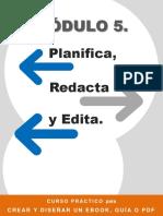 Modulo 5. Planifica, redacta y edita
