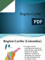 DIAPOSITIVAS REGION CARIBE
