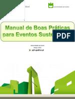Manual de boas práticas para eventos sustentáveis