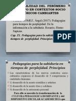 UNIDAD 1 TERCERA PARTE  PEREZ GOMEZ PEDAGOGIA EN TPOS DE PERPLEJIDAD.pptx