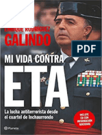 Mi Vida Contra ETA - General Enrique Rodriguez Galindo