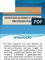 UNIDADE 2 Individualismo e ética profissional