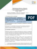 Guia de actividades y Rúbrica de evaluación Tarea 3