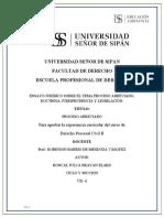 UNIVERSIDAD SEÑOR DE SIPAN- PAF